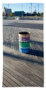Coney Island Boardwalk Beach Towel