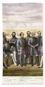 Confederate Generals Beach Towel