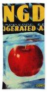 Congdon Refrigerated Apples Beach Towel