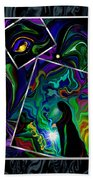 Conjurer Of Dreams And Delusions Beach Towel