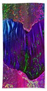 Contours Of The Heart Beach Towel