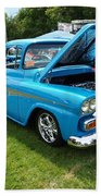 Cool Blues Classic Truck Beach Towel