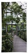 Cool House Inside The National Orchid Garden In Singapore Beach Towel