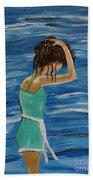 Cool Ocean Breeze Beach Towel