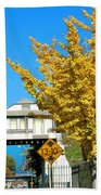 Cooper Young Trestle Looking North Beach Towel