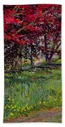 Copper Beeches New Timber Sussex Beach Towel
