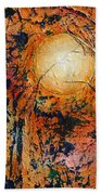 Copper Moon Beach Towel
