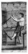 Copper Plate Printer, 1807 Beach Towel