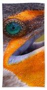 Cormorant Abstract Beach Towel