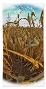 Cornfield Beach Towel