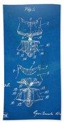 Corset Patent Series 1907 Beach Towel