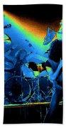 Cosmic Derringer Electrify Spokane Beach Towel