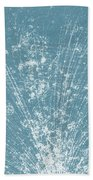 Cosmic Ray Particle Tracks Beach Towel