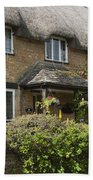 Cotswold Thatched Cottage Beach Towel