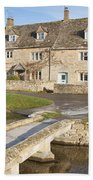 Cotswold Village Of Lower Slaughter Beach Towel