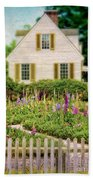 Cottage And Garden Beach Sheet