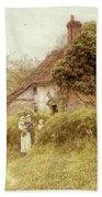 Cottage At Pinner Middlesex Beach Towel