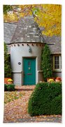 Cottage In The Park Beach Towel