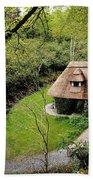 Cottage Ornee Tearoom, Kilfane Glen, Co Beach Towel
