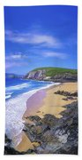 Coumeenoole Beach, Dingle Peninsula, Co Beach Towel