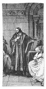 Council Of Constance, 1414 Beach Towel