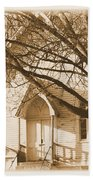Country Church Beach Towel