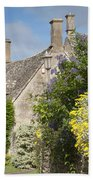 Country Cottage Beach Towel