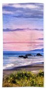 Cove On The Lost Coast Beach Towel