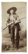 Cowboy, 1880s Beach Towel