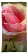 Coy Blush Beach Towel