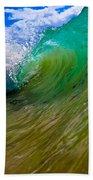 Crashing Wave Beach Towel