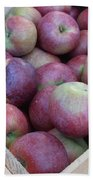 Crate Of Apples Beach Towel by Kimberly Perry