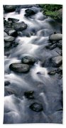 Creek Flow Panel 3 Beach Towel