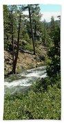 Creek Glen Alpine Creek Beach Towel