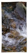 Creek Scene On Mt Tamalpais Beach Towel