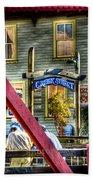 Creek Street - Ketchikan Alaska Beach Towel
