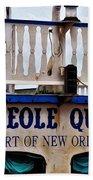Creole Queen Beach Towel