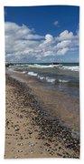 Crisp Point Lighthouse 13 Beach Towel