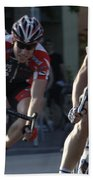 Criterium Bicycle Race 7 Beach Towel