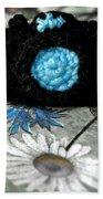 Crochet Camera Bw Beach Sheet