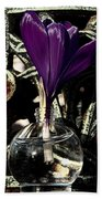 Crocus In A Bottle Number Two Beach Towel
