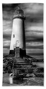 Crooked Lighthouse Beach Towel by Adrian Evans
