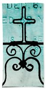 Crosses Voided Beach Towel