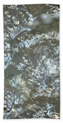 Crystal Clear Bubbles Beach Towel