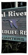 Crystal River Beach Towel