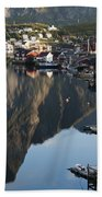 Crystal Waters At Reine Village Beach Towel