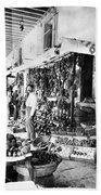 Cuba Fruit Vendor C1910 Beach Sheet