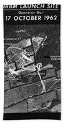 Cuban Missile Crisis, 1962 Beach Towel