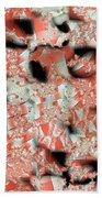 Cubicle Walls Beach Towel by Ron Bissett