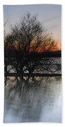 Cubillas Lake Beach Towel